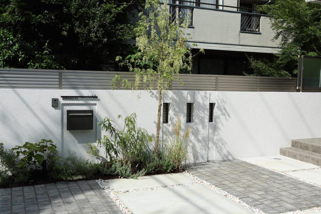 新築の外構工事